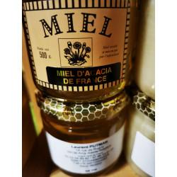 Miel d'acacia LOCAL- le pot de 500g