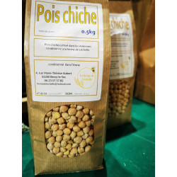 1 paquet de 500g de pois chiche local Berzy le sec