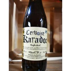 1 bière cervoise KARADOC -TRIPLES MIEL  artisanal local