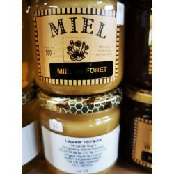 Miel de forêt crémeux local ,le pot de 500g