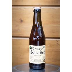 1 bière cervoise KARADOC -TRIPLES AUX CASSIS  artisanale locale