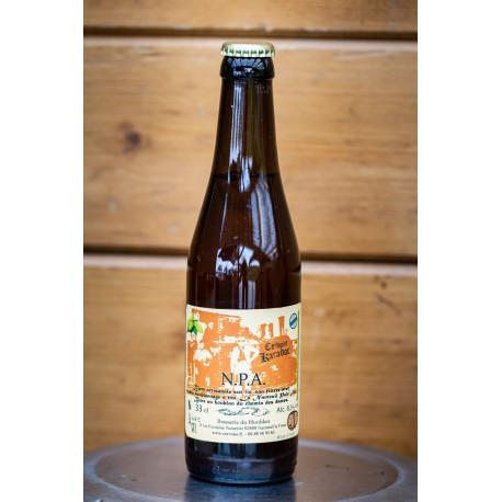 1 bière cervoise KARADOC -NPA  artisanale locale