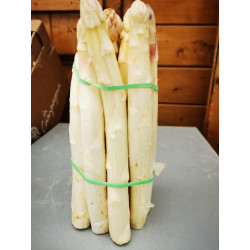 1 kg D'ASPERGES BLANCHES LOCALES