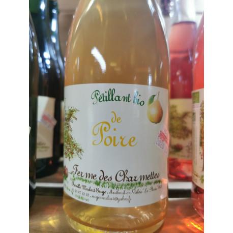 1 bouteille de PETILLANT POIRE BIO local