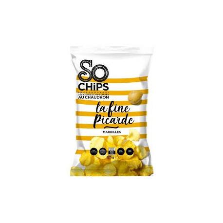1 paquet de 125g de chips artisanales au Maroilles