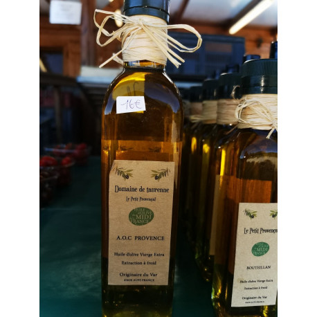 Véritable huile d'olives 50cl