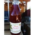 """1 bouteille de JUS BIO """"POMMES-FRAMBOISE"""" - produit local"""