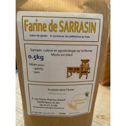 1 paquet de 500g de FARINE DE SARRASIN LOCALE (Berzy-le-Sec)